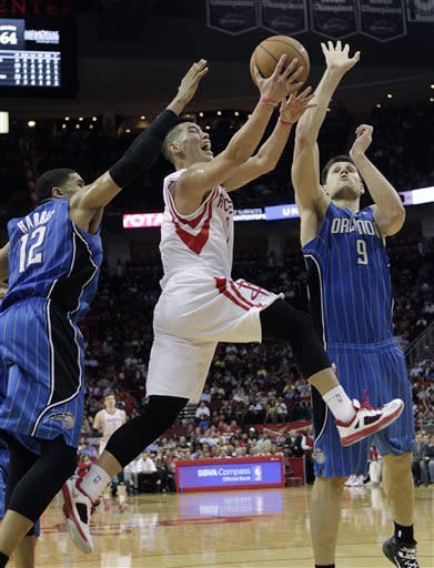 Rockets beat Magic without Harden, Parsons