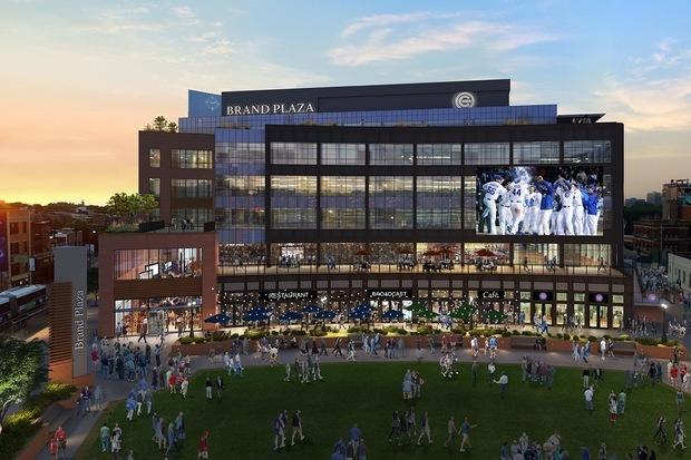 Cubs Offer a Detailed Look at the Future Plaza for Wrigley Field