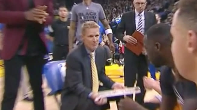 Mic'd Up Warriors Coach Steve Kerr Laments Finally Getting 'A Close Game To Play'