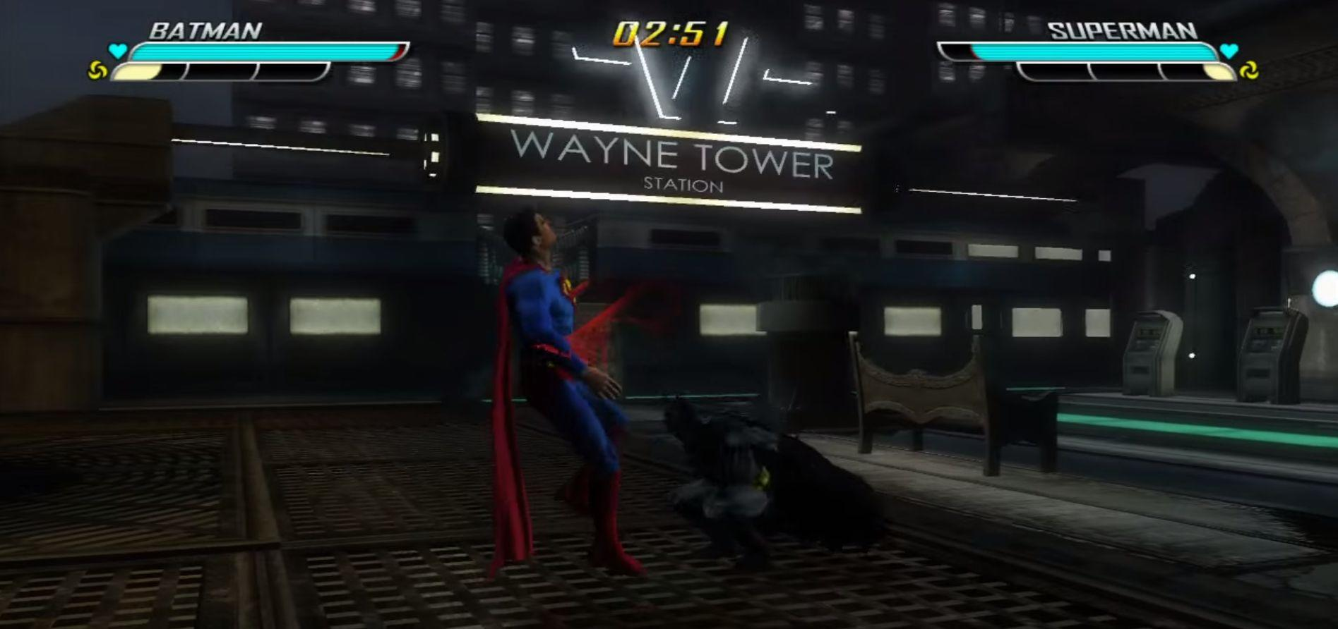 Watch Batman Beat Superman in Canceled Justice League Game