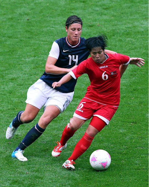 Olympics Day 4 - Women's Football - USA v DPR Korea