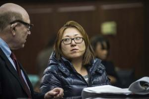 'Nicky' Kyung Chun Min, 33, appears in criminal court in New York