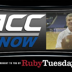 ACC Commissioner John Swofford Takes V Throw Challenge | ACC Now
