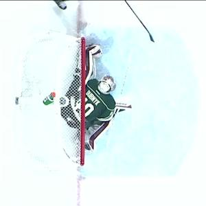 Dubnyk stones Porter from point-blank range