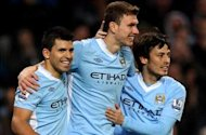Manchester City striker Dzeko reveals Serie A ambition