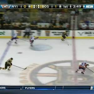NY Islanders Islanders at Boston Bruins - 09/30/2014