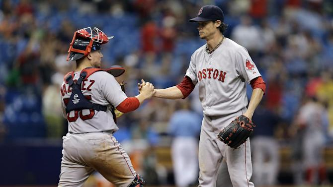 Buchholz throws 3-hitter, Red Sox beat Rays 3-0