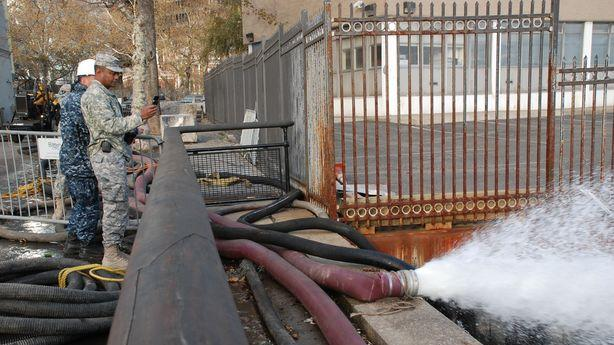 Dewatering SWAT Team Has Been Pumping Out More Than an Olympic-Size Pool Per Minute