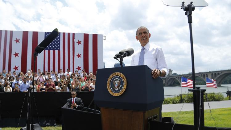 President Obama makes remarks on the economy