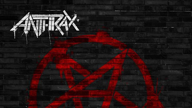 """This CD cover image released by Megaforce shows """"Anthems,"""" by Anthrax. (AP Photo/Megaforce)"""