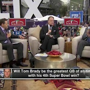 Will Super Bowl win make New England Patriots quarterback Tom Brady the best ever?