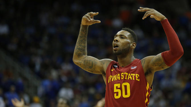 No. 16 Iowa State beats No. 10 Kansas, 94-83