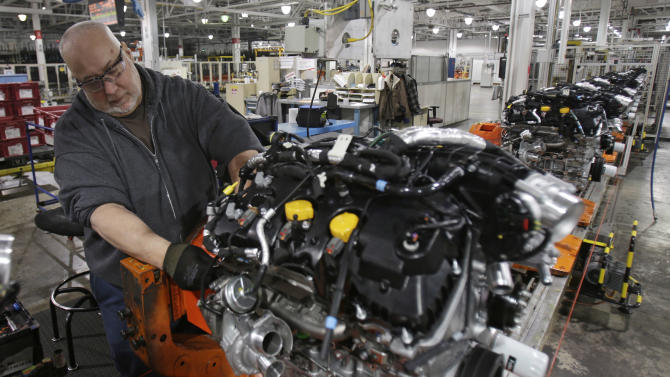 Cars, utilities lift US industrial output in March