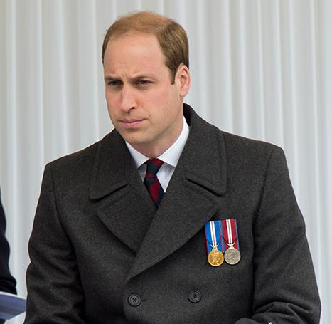 Prince William Commemorates ANZAC Day As Kate Middleton Prepares to Give Birth to Second Royal Baby
