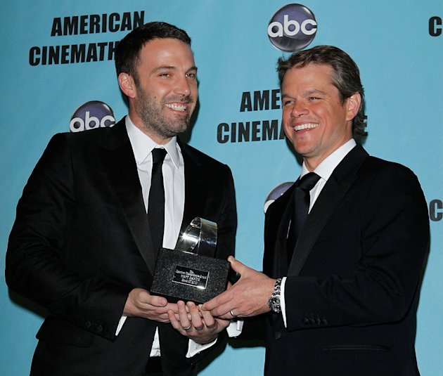24th American Cinematheque Annual Gala 2010 Ben Affleck Matt Damon