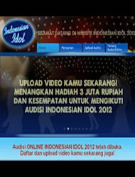 Indonesian Idol 2012 Gelar Online Audition