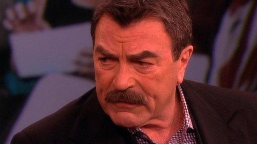 "Tom Selleck from ""Blue Bloods"""