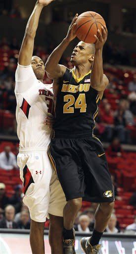 Mizzou hits 16 3-pointers to top Texas Tech 81-59