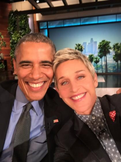 President Obama Talks Equality, Daughters, And Sends A Valentine's Message To First Lady On 'Ellen'
