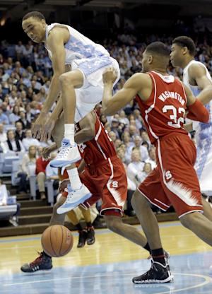 North Carolina beats NC State 84-70