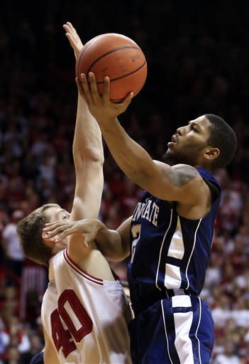 No. 7 Indiana pulls away from Penn St. 72-49