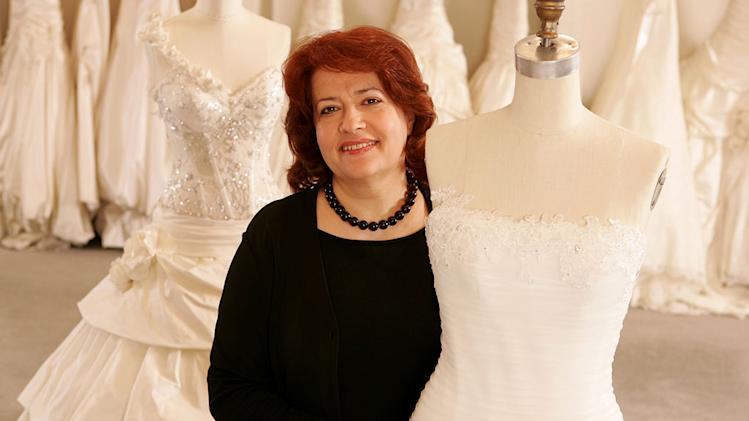 "Nitsa, director of alterations at Kleinfeld Bridal, on ""Say Yes to the Dress."""