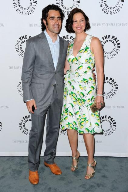 "Ashley Judd and her husband Dario Franchitti attend The Paley Center for Media's screening of ""Missing"" on April 10, 2012 -- Getty Images"