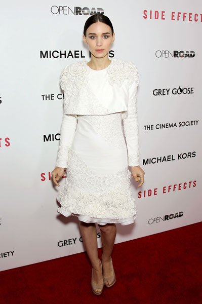 McQueen Pre-Fall 2013 Side Effects premiere in New York Image © Rex