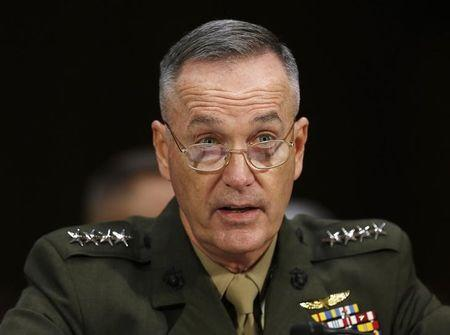 Obama to name Marine general to become top U.S. military officer