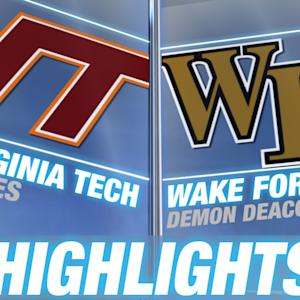 Virginia Tech vs Wake Forest | 2014 ACC Football Highlights