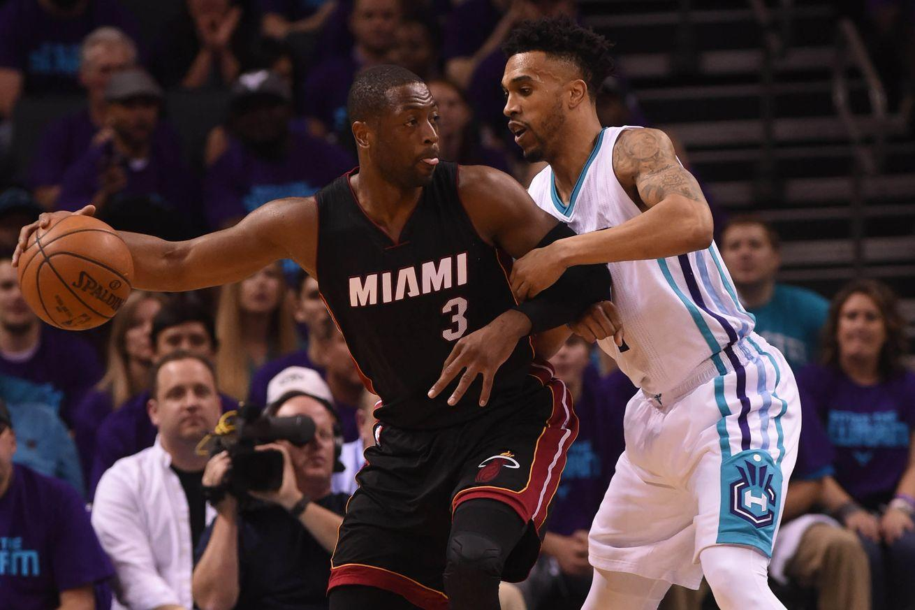Heat vs. Hornets, NBA playoff results 2016: Dwyane Wade saves Miami, forces Game 7