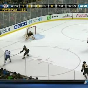 Tuukka Rask Save on Evander Kane (19:20/1st)
