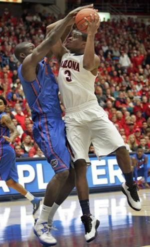 Arizona pulls out 65-64 win over No. 5 Florida