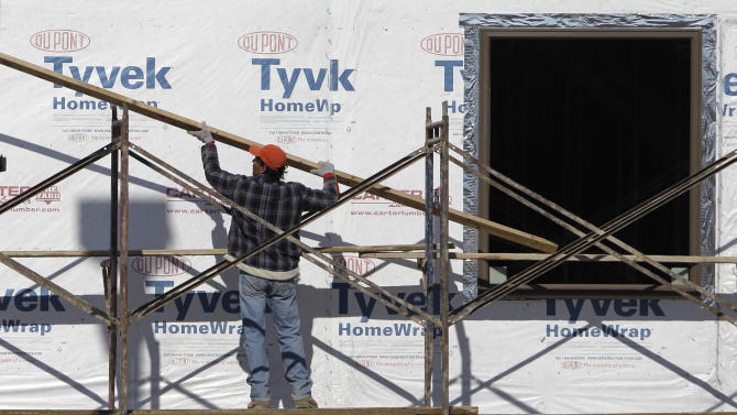 US housing starts rise modestly to start new year