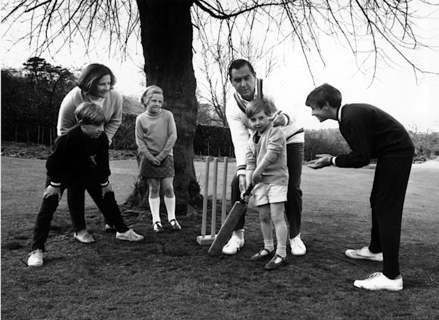 Cricketing Family
