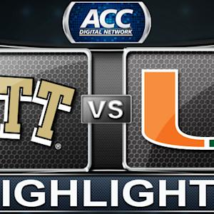 Pittsburgh vs Miami | 2014 ACC Women's Basketball Highlights