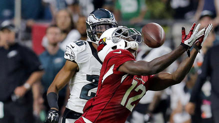 Rookie Brown's 75-yard TD catch beats Eagles 24-20