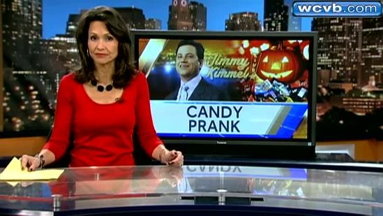 Kimmel's Halloween candy prank gets mixed reaction