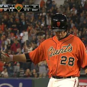 Posey's two-run triple