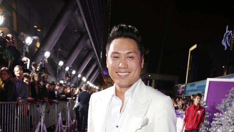"Producer/writer/director Jon M. Chu seen at the World Premiere of Open Road's ""Justin Bieber's Believe"" presented by Teen Vogue and sponsored by Clearasil, on Wednesday, Dec. 18, 2013 in Los Angeles. (Photo by Eric Charbonneau/Invision for Open Road Films/AP Images)"