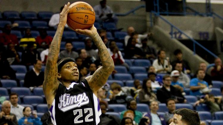 NBA: Sacramento Kings at New Orleans Hornets