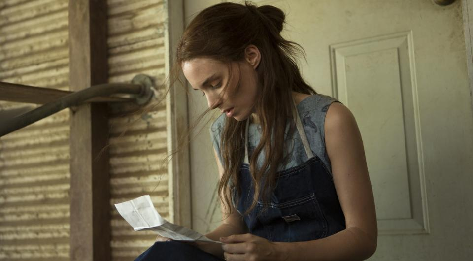 "This film image released by IFC Films shows Rooney Mara in a scene from ""Ain't Them Bodies Saints."" (AP Photo/IFC Films)"