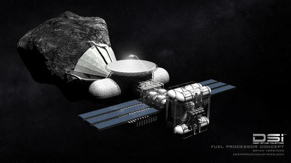 Asteroid Mining Could Pave Way for Interstellar Flight