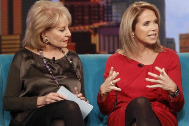 Katie Couric, Barbara Walters Deny 'View' Replacement Report