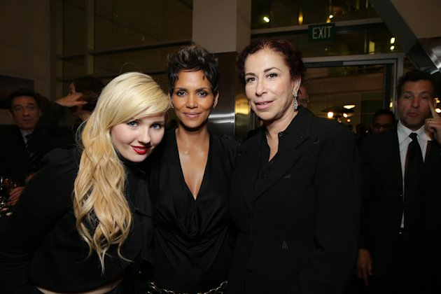 Abigail Breslin, Halle Berry and Roma Maffia at TriStar Pictures World Premiere of 'The Call', held at the ArcLight Hollywood on Tuesday, Mar. 5, 2013 in Los Angeles. (Photo by Eric Charbonneau/Invisi