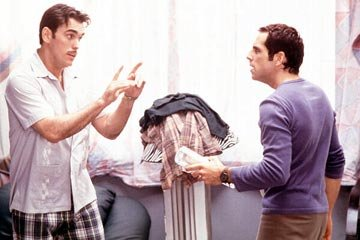 Matt Dillon and Ben Stiller in Twentieth Century Fox's There's Something About Mary
