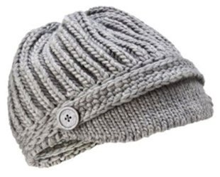 Merona Grey Brim Hat