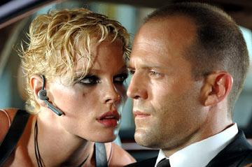 Kate Nauta and Jason Statham in 20th Century Fox's Transporter 2