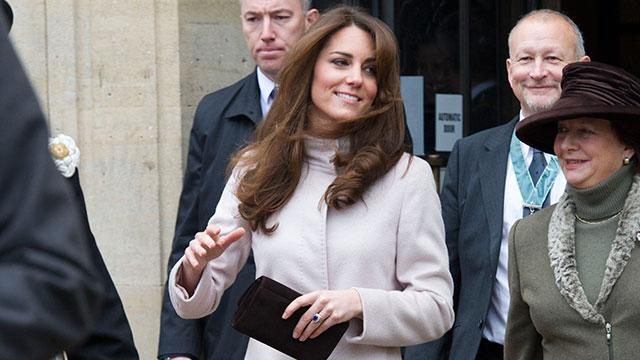Kate Makes First Appearance Since Hospital Stay