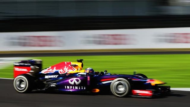 2013 GP of Japan Red Bull Vettel